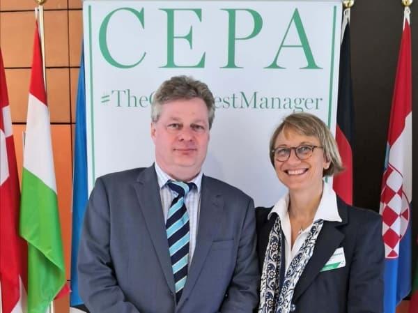 Monica Biglietto nel consiglio dell'associazione europea CEPA