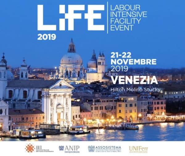 Possibilità di sponsorizzazione della manifestazione LIFE 2019 - Venezia, 21-22 novembre 2019