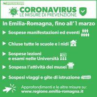 Regione emilia Romagna Corona Virus