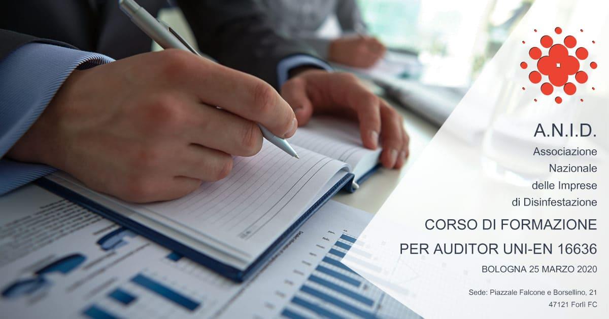 Corso Formazione Auditor