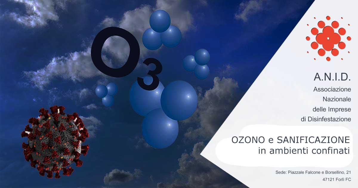 Ozono e sanificazione